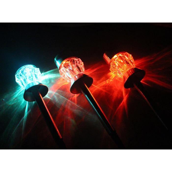 Diamant ampoule Stake Auto Intelligente1117 Solaire Solaires Led De Jardin Luminaires Lumières Capteur Fonction YIAAqPF