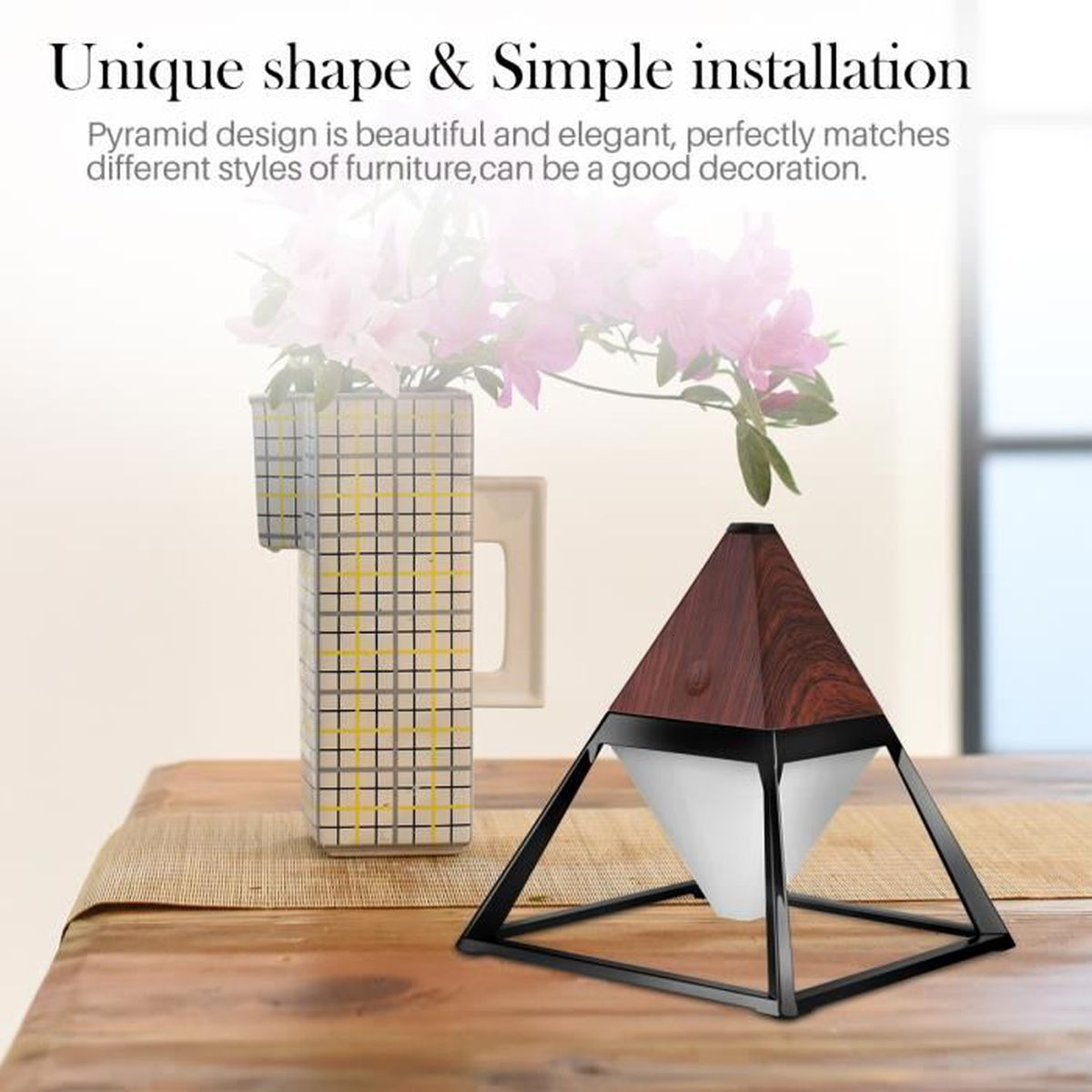 Lampe Table Lecture Soins Pyramide Pour Led De 4w Lumière xeCQdrBoW