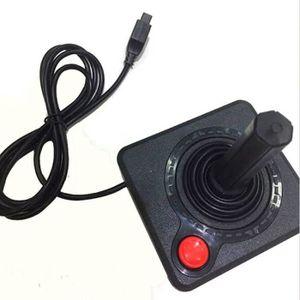 JOYSTICK - MANETTE Manette de jeu noire rétro classique pour console