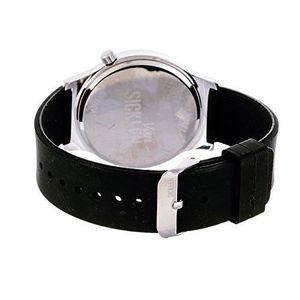 MONTRE Craze montre-bracelet à cadran caoutchouc noir hor
