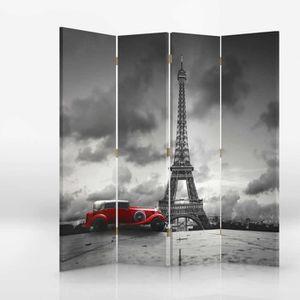PARAVENT Paravent sur toile 145x180 PARIS