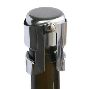 BOUCHON - DOSEUR  Bouchon de champagne chrome