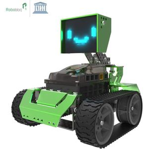 ROBOT - ANIMAL ANIMÉ Robobloq QOOPERS -  Robot Éducatif Programmable