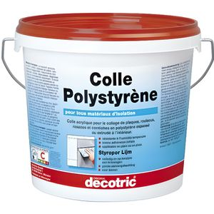 COLLE - PATE FIXATION Colle Polystyrène - 8 kg
