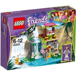 ASSEMBLAGE CONSTRUCTION LEGO® Friends 41033 Sauvetage dans cascades jungle
