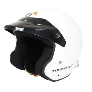 CASQUE MOTO SCOOTER Casque FIA Jet TURN ONE Jet-RS blanc 8859-2015