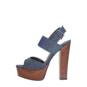 O6 Sandale Femme Noir, 40