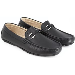 Oxford Flats en cuir décontractée Mode homme Mocassins en cuir pour homme,noir,46,6592_6592