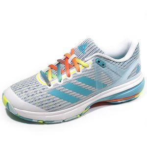 wholesale dealer 88cb9 17bfc CHAUSSURES DE HANDBALL Chaussures Court Stabil 13 Blanc Handball Femme Ad