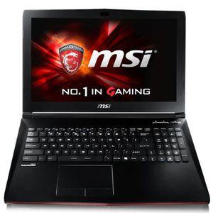 ORDINATEUR PORTABLE PC portable MSI GP62-6QE-260XFR Leopard Pro 15.6'H