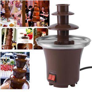 FONTAINE A CHOCOLAT Fontaine A Chocolat Fondue Electrique Trois Couche