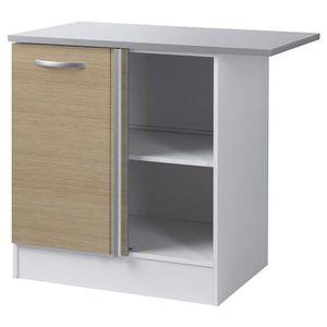 meuble bas d 39 angle cuisine achat vente meuble bas d 39 angle cuisine pas cher cdiscount. Black Bedroom Furniture Sets. Home Design Ideas