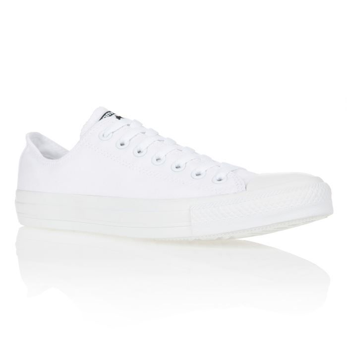 1d647574f69f CONVERSE Baskets Chuck Taylor All Star Mono Ox Homme Blanc - Achat ...