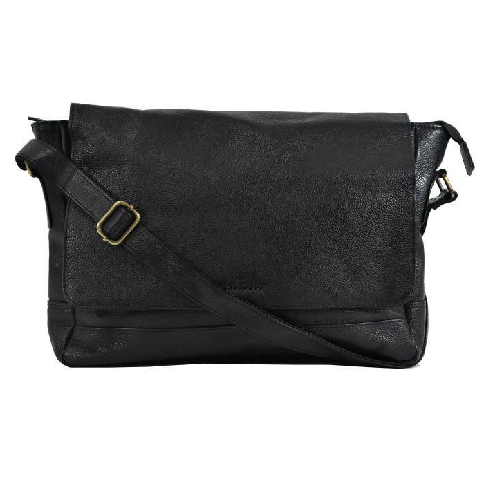 Le sac dordinateur portable en cuir véritable pour hommes pour les hommes - femmes N40X4