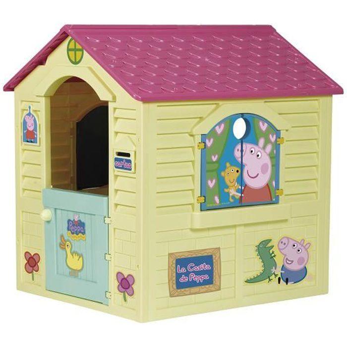 Peppa pig maisonnette enfant de jardin achat vente for Maison jouet exterieur