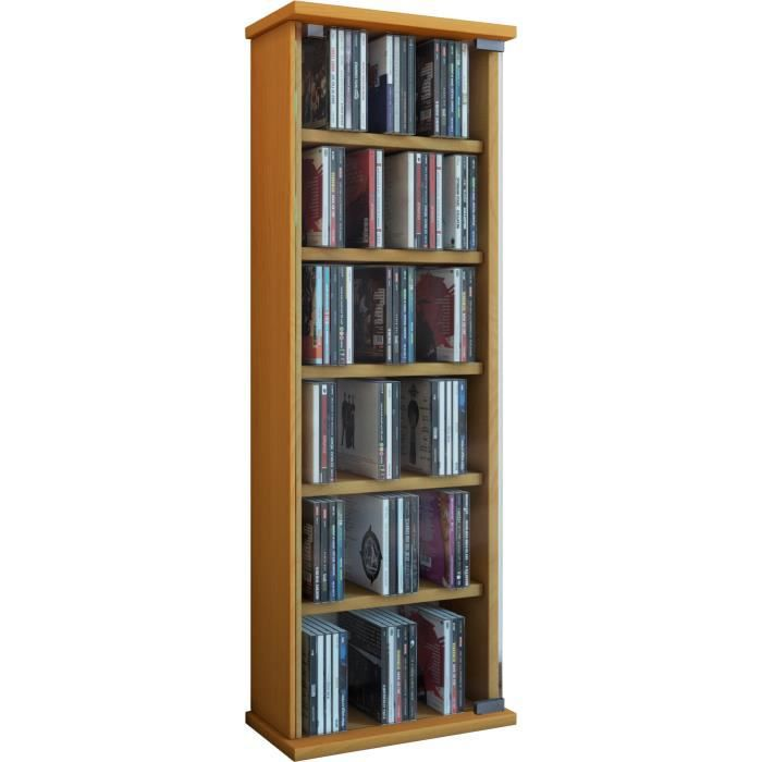 bibliotheque pour dvd achat vente bibliotheque pour dvd pas cher cdiscount. Black Bedroom Furniture Sets. Home Design Ideas