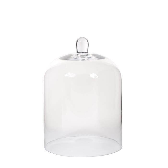 Cloche en verre deco achat vente cloche en verre deco for Mica decoration cloche