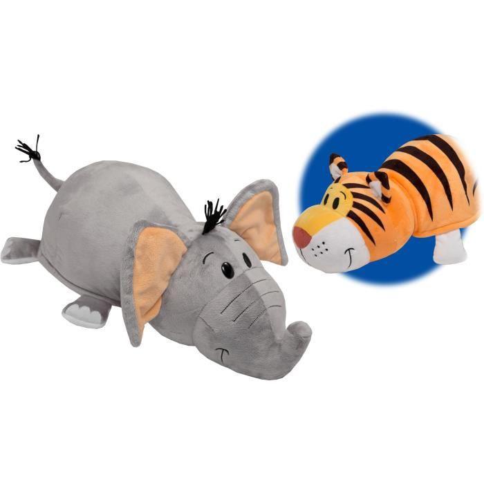 peluche 2 en 1 flip a zoo