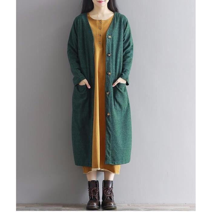Veste longue femme cdiscount