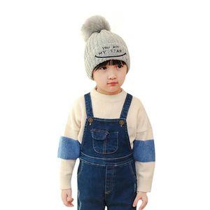 40c286ecd7df ... CHAPEAU - BOB Bébés garçons filles Bonnet Lettre chapeau en coto. ‹›