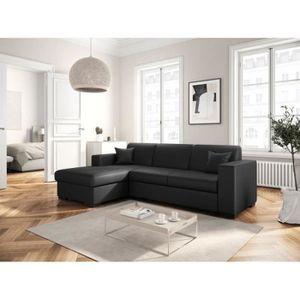 canape cuir avec meridienne achat vente pas cher. Black Bedroom Furniture Sets. Home Design Ideas