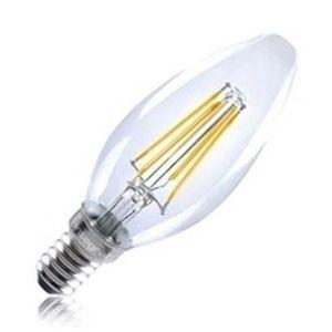 INTEGRAL LED Ampoule flamme E14 filament 420lm 4W équivalent ? 36W