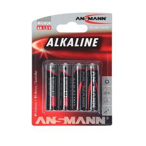 PILES GP Batteries 4 Piles AA / LR06 - GP 15AE-2U4 / LR6