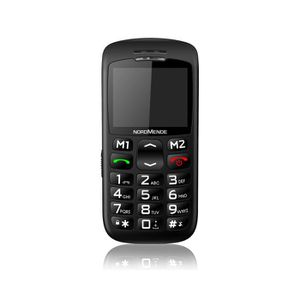 SMARTPHONE Nordmende BIG200S, Barre, SIM unique, 5,59 cm (2.2