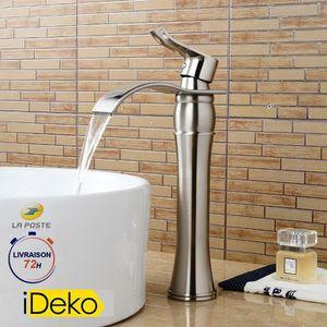 ROBINETTERIE SDB iDeko® Robinet salle de bain cascade haut de bec à