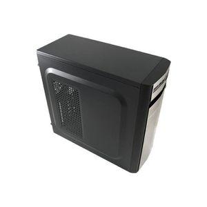 BOITIER PC  LC Power Classic 7017S Tour midi ATX noir, argenté