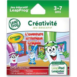 JEU CONSOLE ÉDUCATIVE LEAPFROG Explorer Jeu Crayola LeapPad