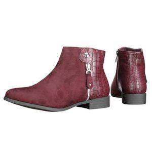 BOTTINE Bottine Lily shoes R811 Wine