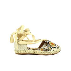 SANDALE - NU-PIEDS sandale - nu-pieds, Sandales Beige Chaussures Femm