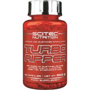 PRODUIT DE SÈCHE Turbo Ripper 200caps Scitec Bruleur de Graisse
