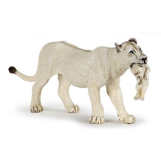 Vente Lionceau Achat Figurine Lionne Avec Papo Blanche Tul315FKJc