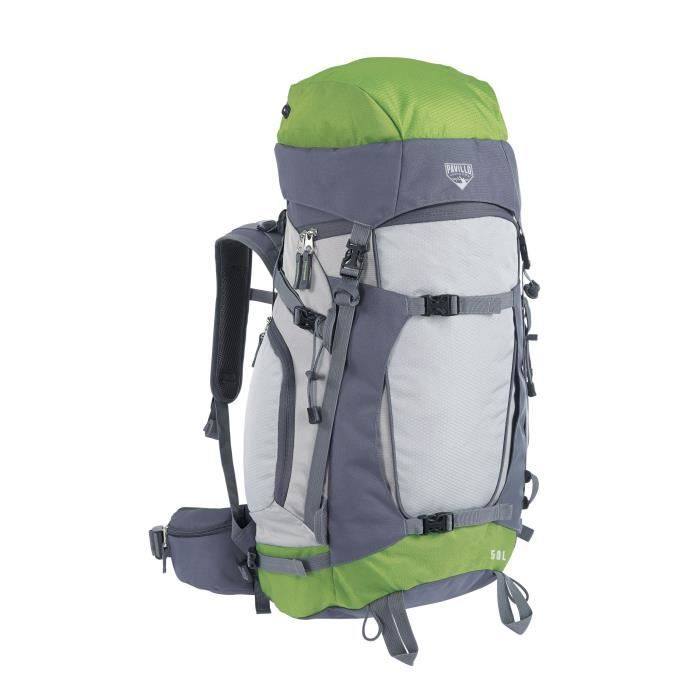 BESTWAY Sac à dos Ralley - Système Spineflow - 50 Litres