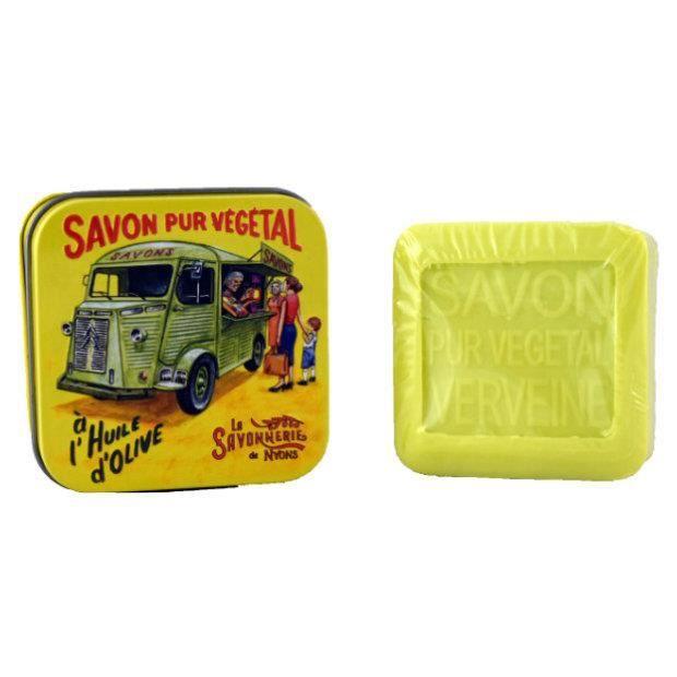 "Savon Verveine 100 gr en boite vintage ""Le Tube"""