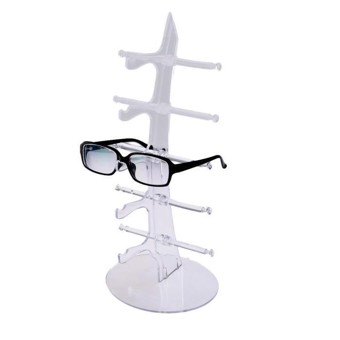 Porte-lunettes de soleil présentoir de lunettes pour 5 paires de lunettes -  Transparent 6a9c3f4fc0f3