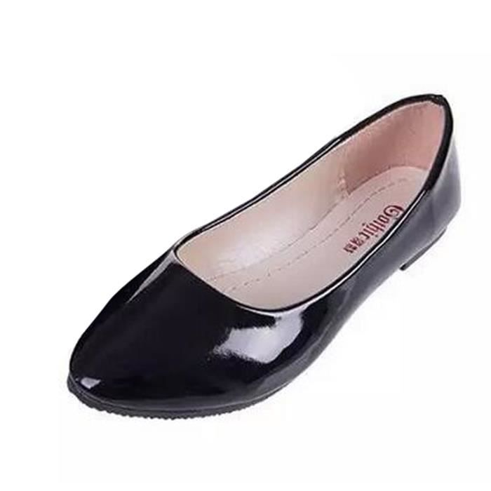 Ete Chaussures Plates Femmes Ballerines Decontractees Couleur Bonbons Bout Pointu