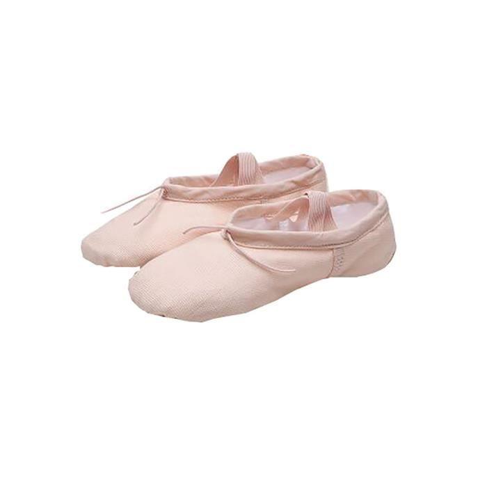 Yoga adultes Ballet Toile Danse SSStancy Chaussures Gymnastic Tailles et Enfants dwOn7ZRx