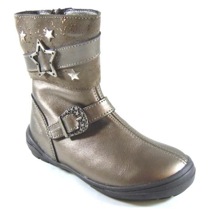 c6396577c1f34 Bopy Bottes Fille Bronze (31 - Médium - gris) Gris - Achat   Vente ...