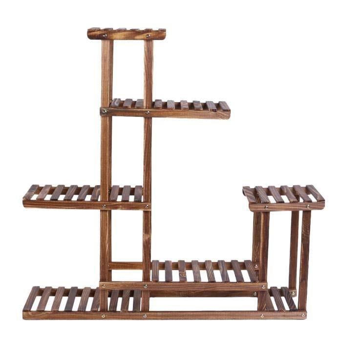 Présentoir en bois vieilli, 95cmx25cmx96cm - Achat / Vente salon de ...