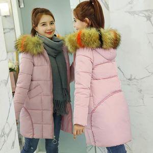 ... MANTEAU - CABAN Les femmes d hiver manteau chaud en fausse fourrur. ‹› 2e5ba556671