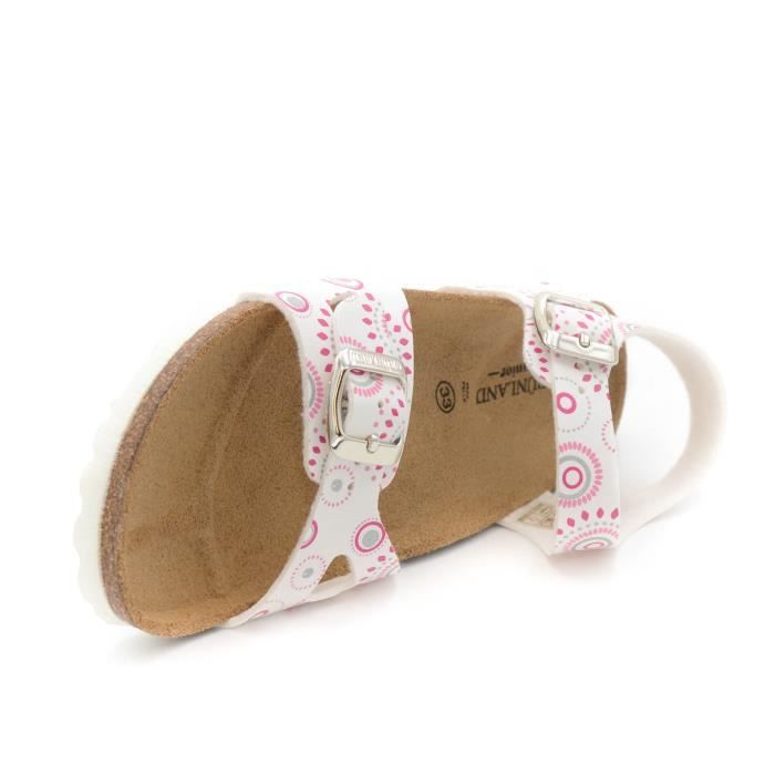 Grunland Junior Sandale bambina blanc art.SB0569-40 T. 32