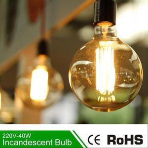 LAMPE ET SPOT DE SCÈNE Lampes Ampoules a Globe Grosse LED Edison E27 G80