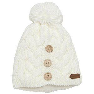 BONNET - CAGOULE Crevice bonnet en tricot pour femme noir Taille un 05d3d9a2205