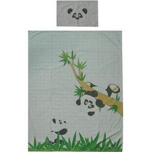 """HOUSSE DE COUETTE Housse de couette 140x100 cm + taie  """" thème Panda"""