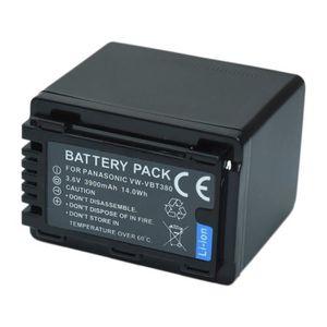 BATTERIE APPAREIL PHOTO MPTEK @ 1X 3900mAh Remplacement Batterie VW-VB380