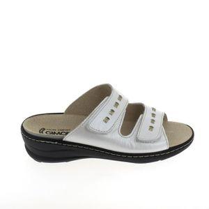 SANDALE - NU-PIEDS Nu pieds et sandales BOISSY Mule Blanc