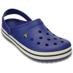 SANDALE - NU-PIEDS Crocs Sandales Crocband Femme Cerulean Blue/Oyster